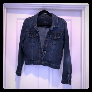 Kut from the Kloth Cropped Jean Jacket